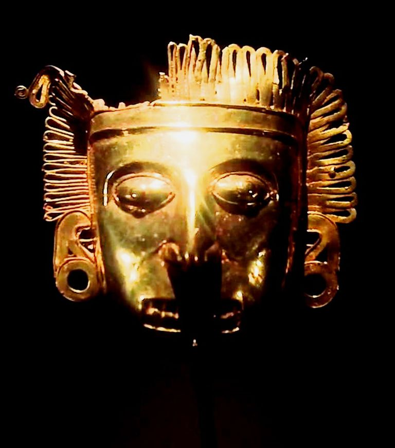 Aztec Gold Mask