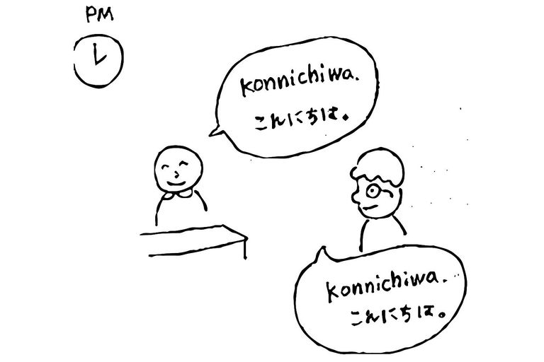 Good morning and other common japanese greetings konnichiwa good afternoon m4hsunfo Images