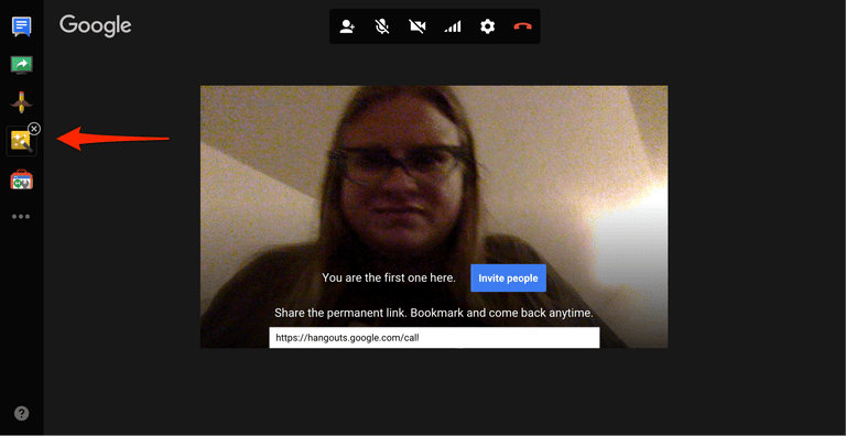 Google Hangouts Google Effects