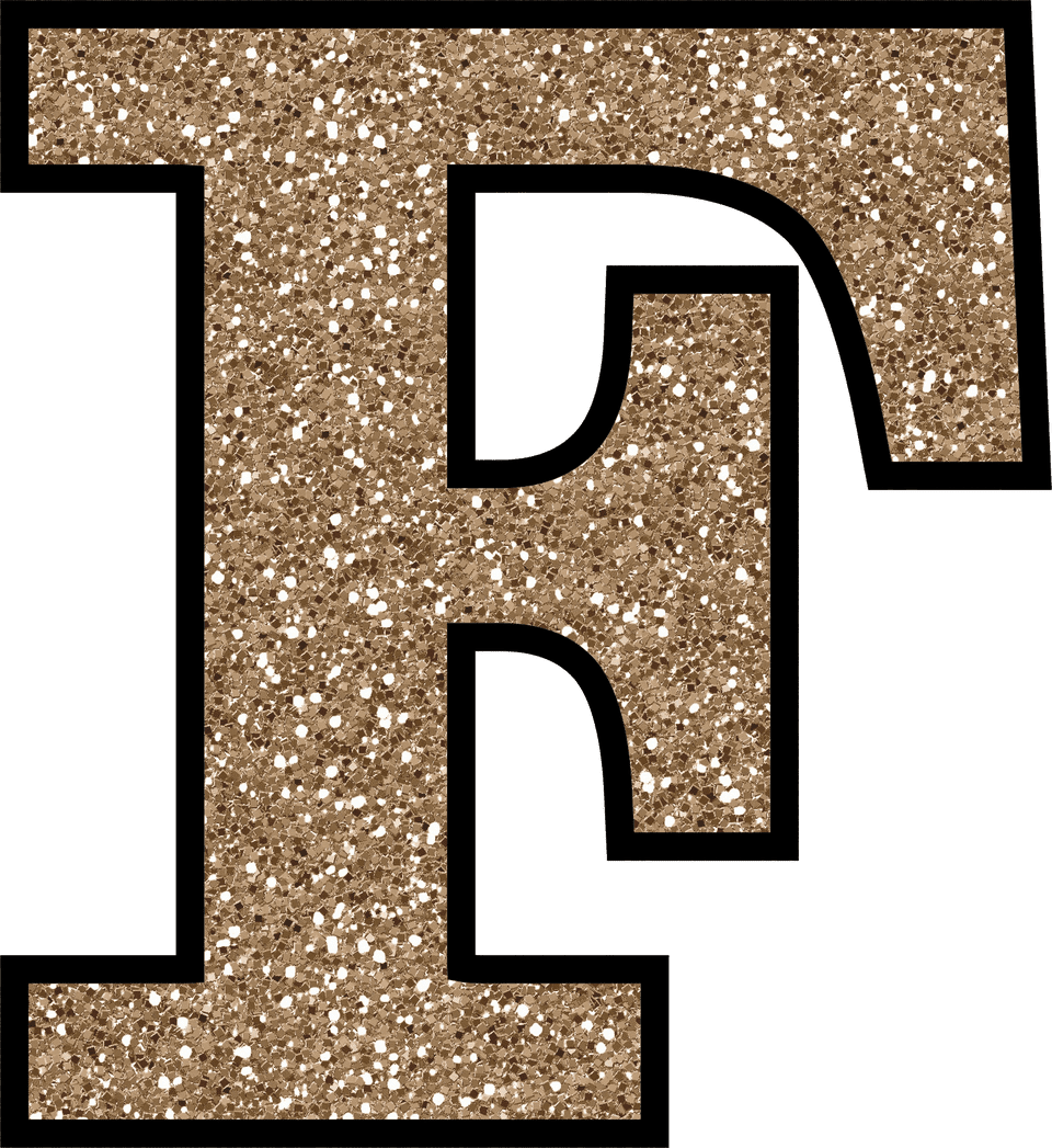 This is an image of Canny Printable Letter F