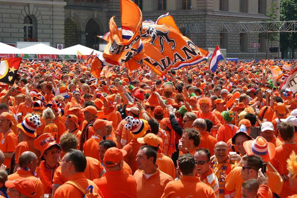 The Dutch and the Color Orange