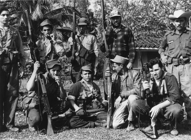 Cuban Defenders during the Bay of Pigs Invasion