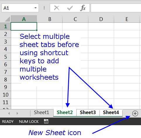 use a shortcut to insert a new worksheet in excel. Black Bedroom Furniture Sets. Home Design Ideas