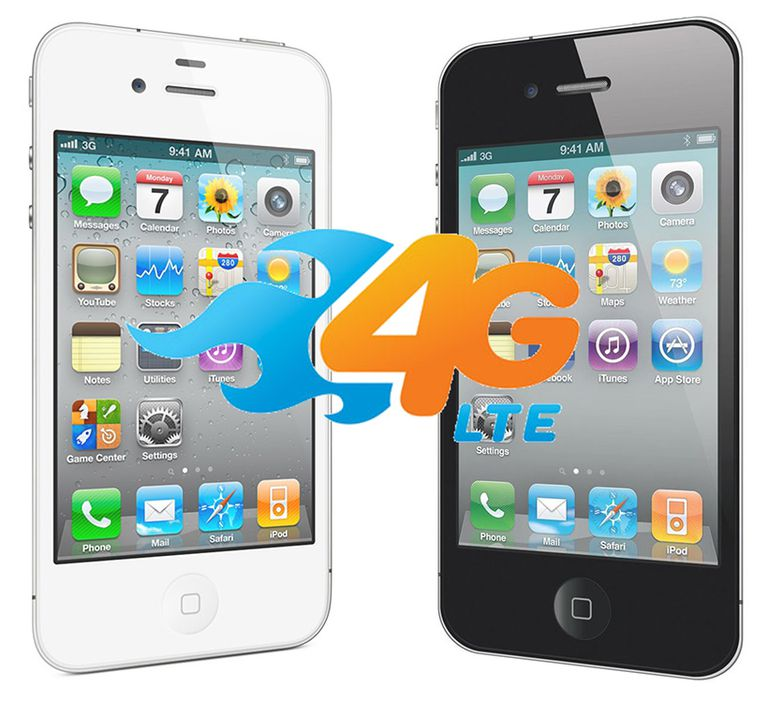 Are The IPhone 4 And 4S 4G Phones