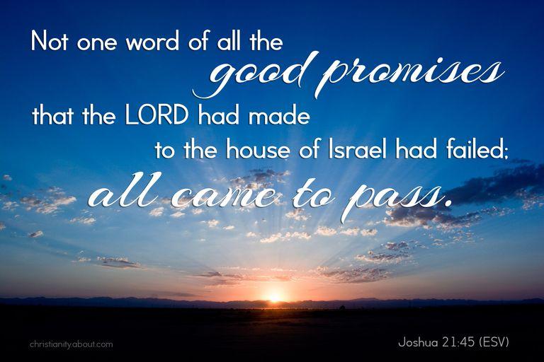 God's Word Never Fails