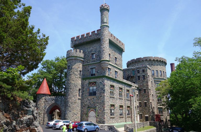 Usen Castle at Brandeis University