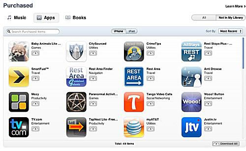 download apps from app store, step 5