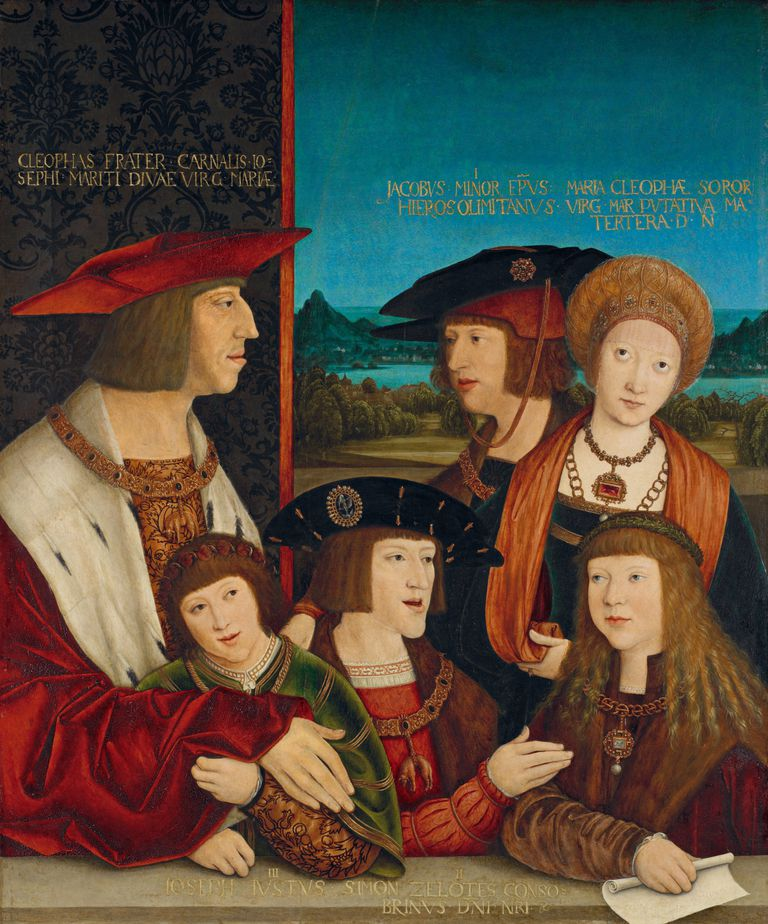 Portrait of Emperor Maximilian I with His Family. Artist: Bernhard Strigel