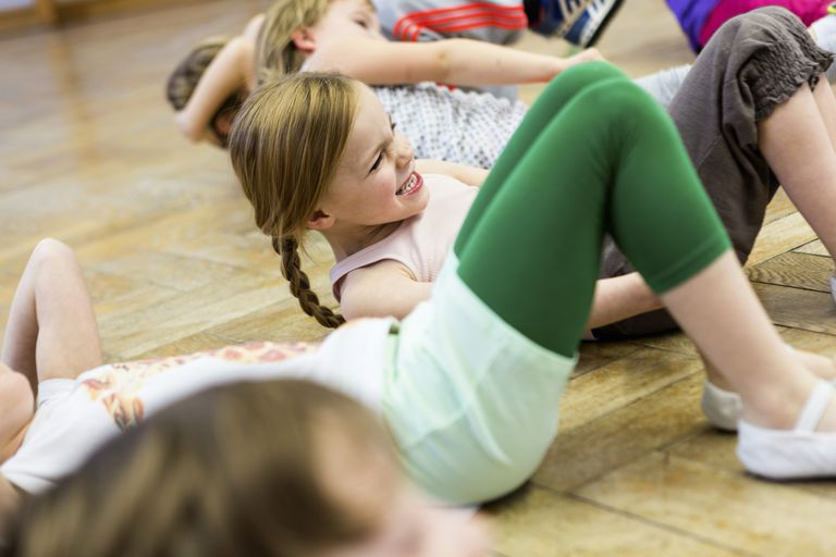 Kids might hate gym class because of sit-ups
