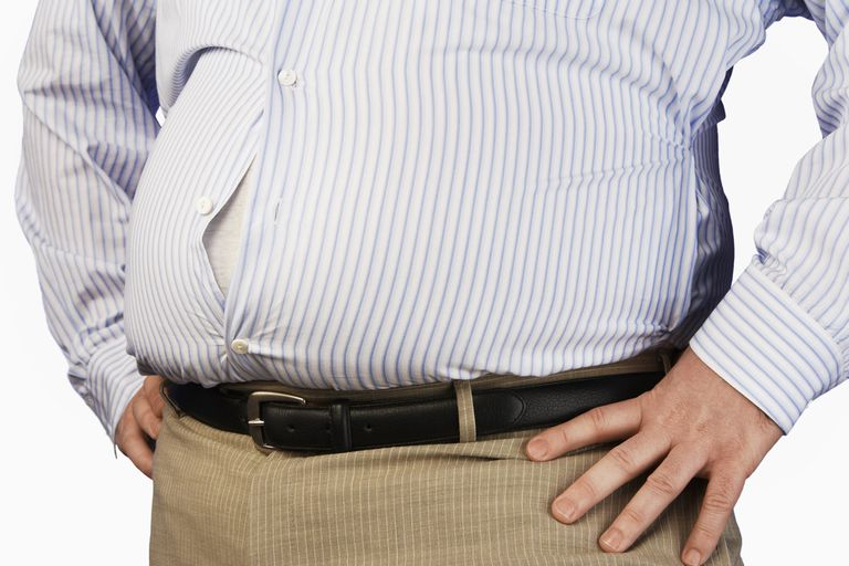 Abdominal fat is a risk factor for diabetes.