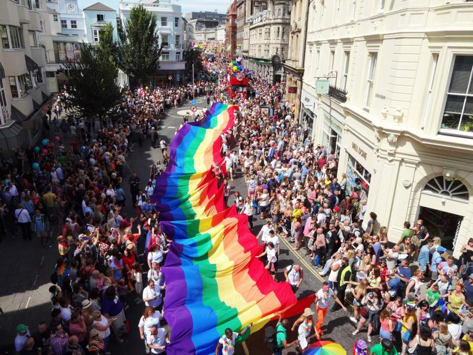 Brighton Gay Pride Parade