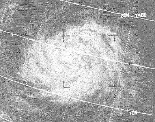 Typhoon Irma 1971