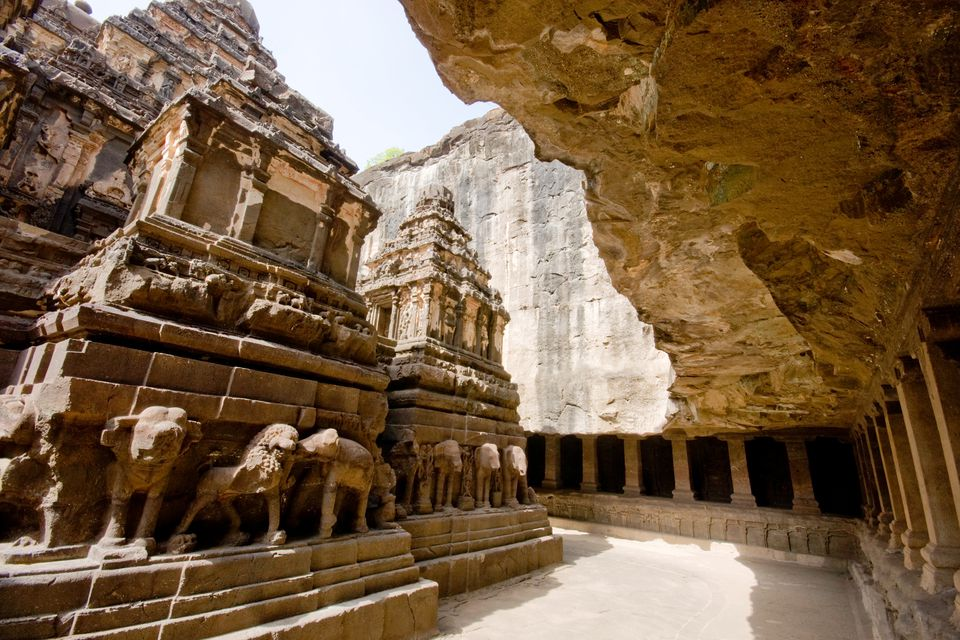 Ellora cave temple.
