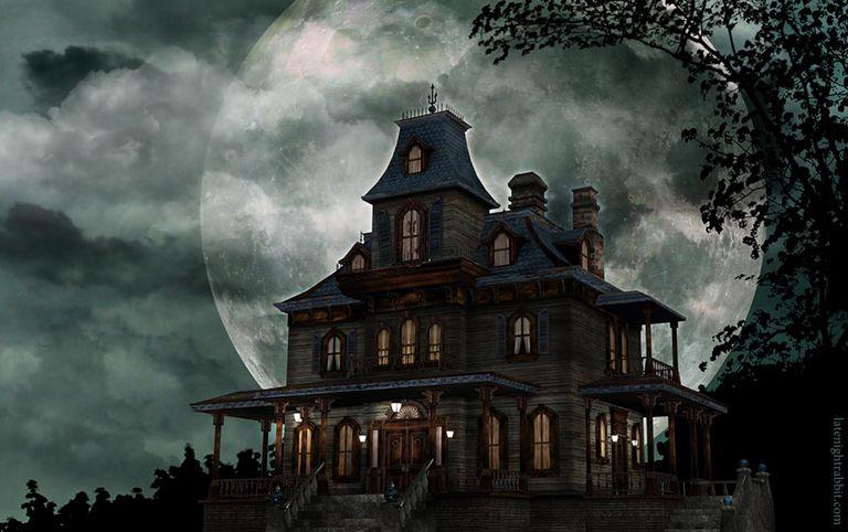 com wallpapers halloween house windows - photo #8