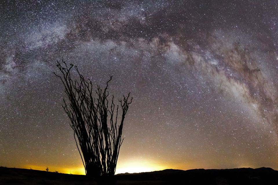 Milky Way over Anza-Borrego State Park