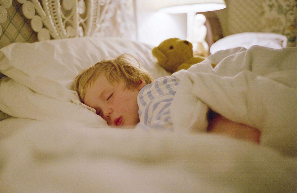 Young Boy Sleeping, UK