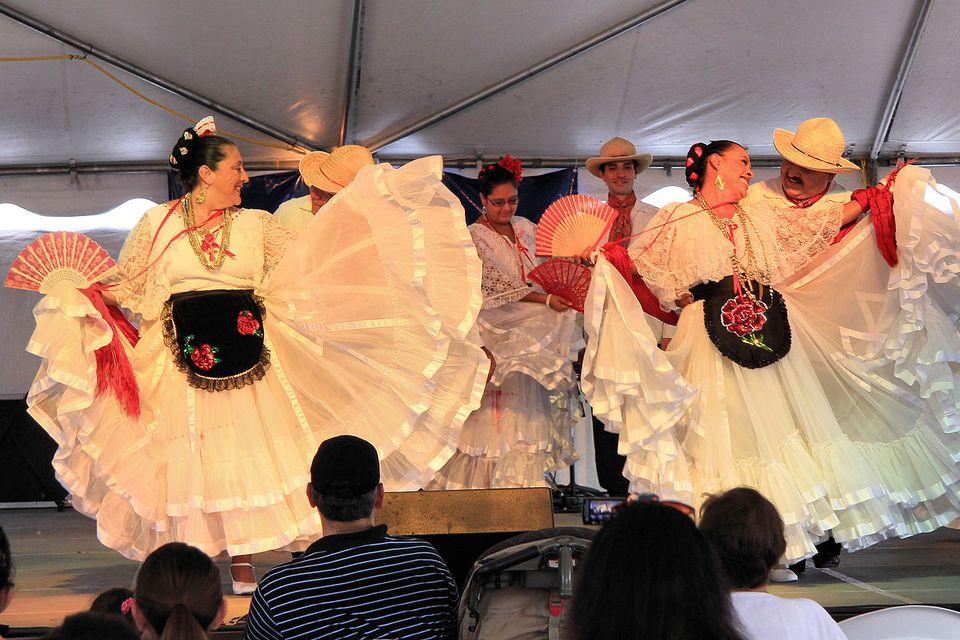 Ballet Folklorico at the 42nd Texas Folklife Festival.