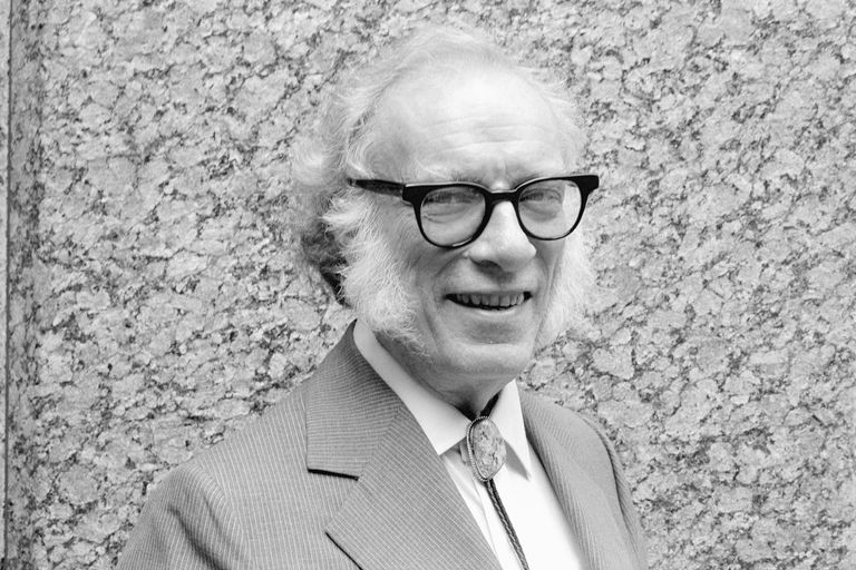 Author Isaac Asimov