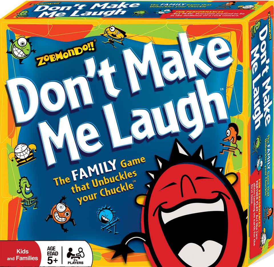 Don't Make Me Laugh is a fun family game.
