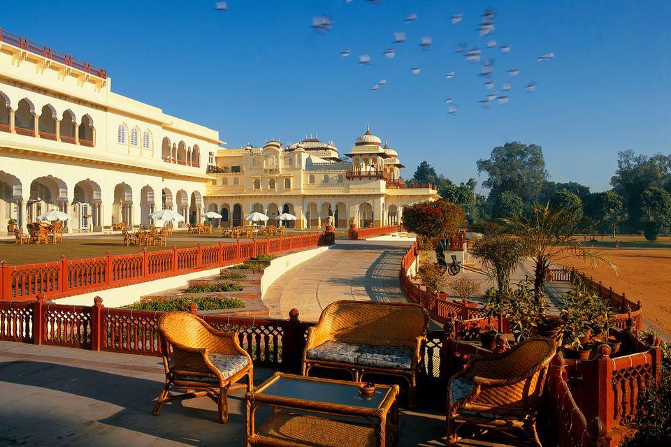Taj Rambagh Palace hotel, Jaipur.