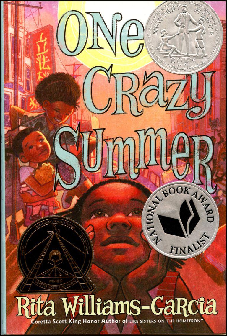 One Crazy Summer - book cover art