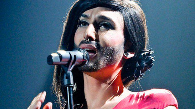 Austrian singer Conchita Wurst