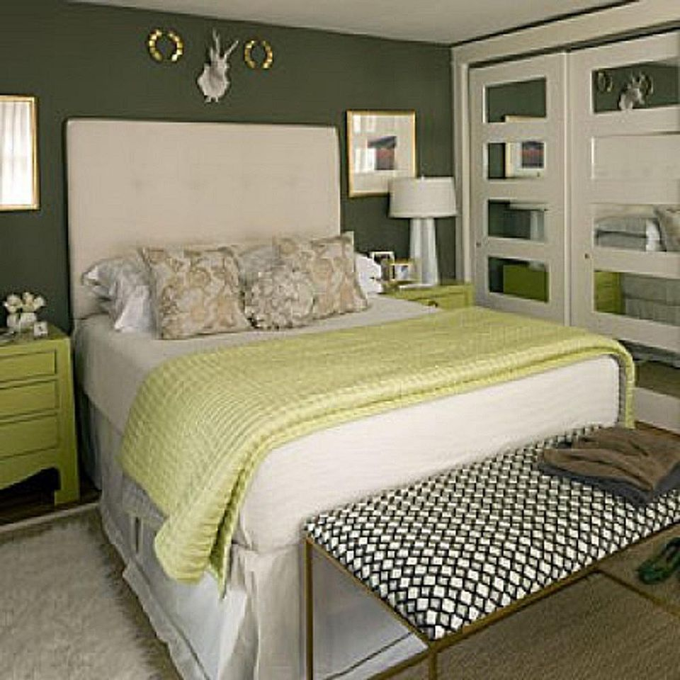 green bedroom decorating ideas - Green Bedroom