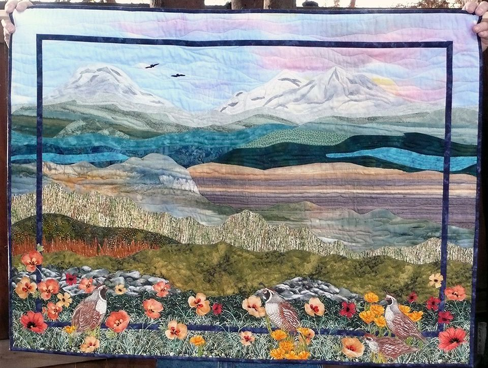 Pictures of Landscape and Art Quilts : quilt paintings - Adamdwight.com