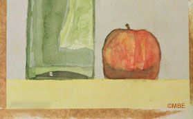 Remove Brown Gummed Tape From Stretched Watercolor Paper