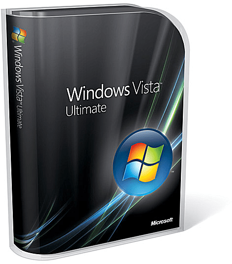 Windows Vista Ultimate Boxshot