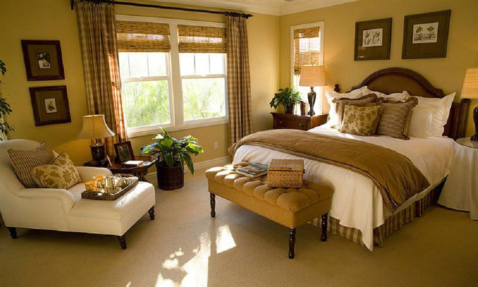Cozy Bedroom the best color schemes to set a bedroom's mood