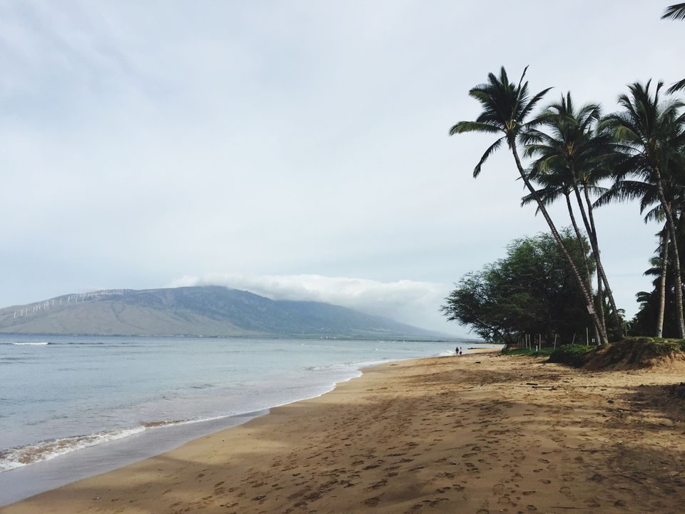 Beach in Kihei maui hawaii