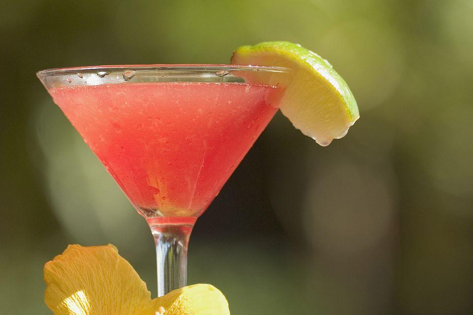 Jamaica Margarita - Tequila Margarita Cocktail Recipe