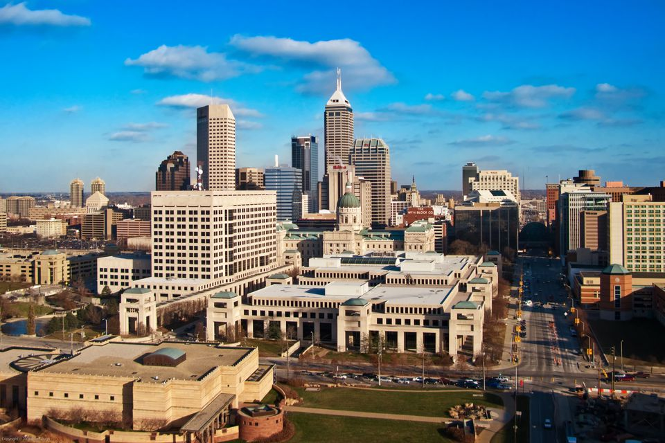 Downtown Indianapolis, Capitol, State Museum