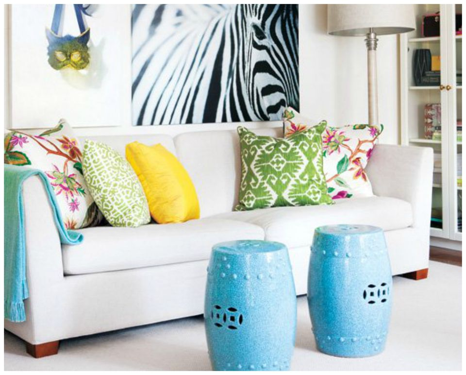 Coffee Tables For Small Living Rooms. Coffee Table Alternatives garden stools jpg 7 for Small Living Rooms
