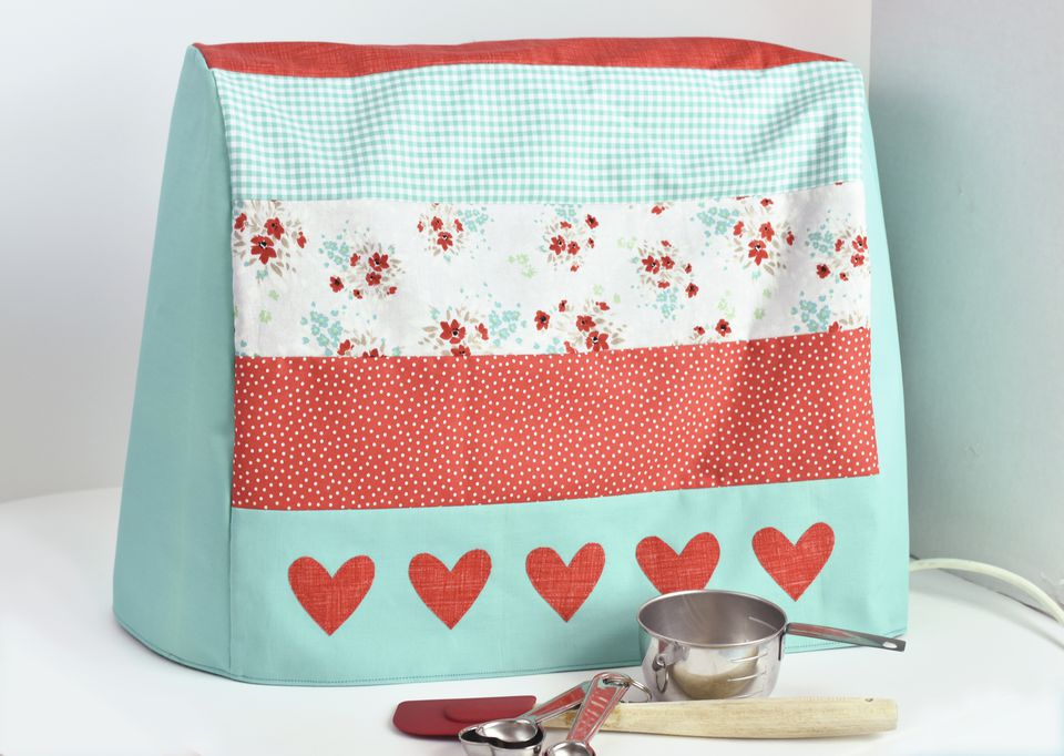 Cover Your Mixer With Patchwork and Hearts