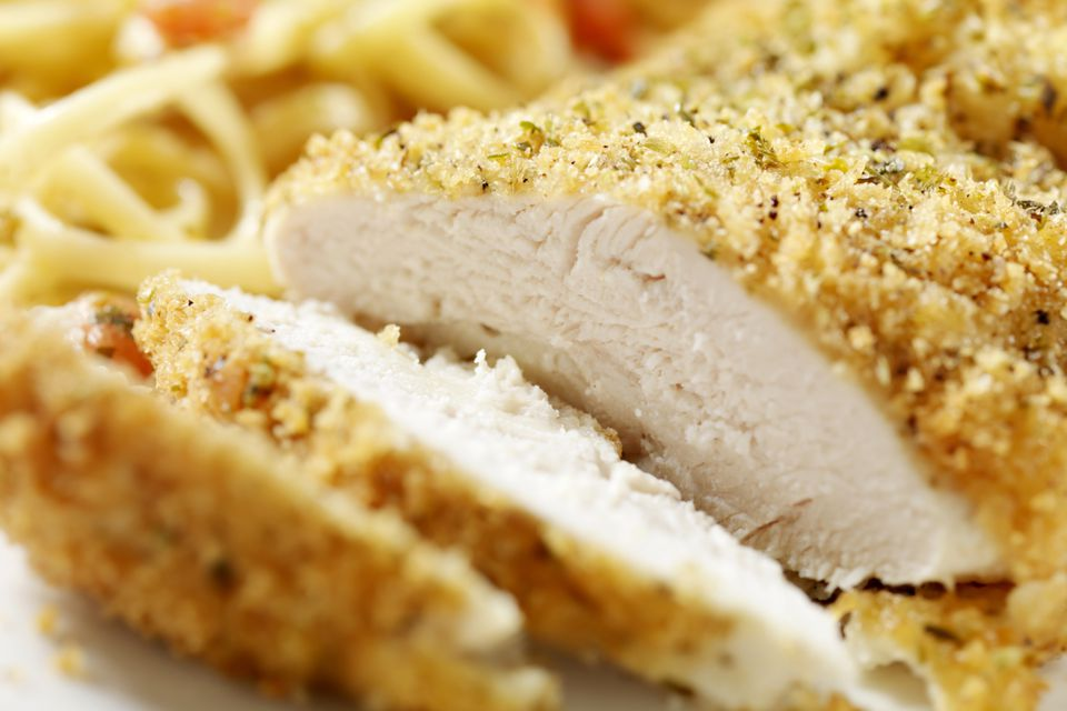 Chicken with Panko Coating