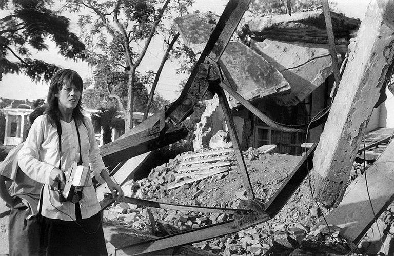 Jane Fonda in Hanoi, 1972