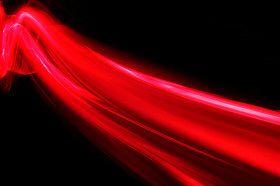 angel light ray red