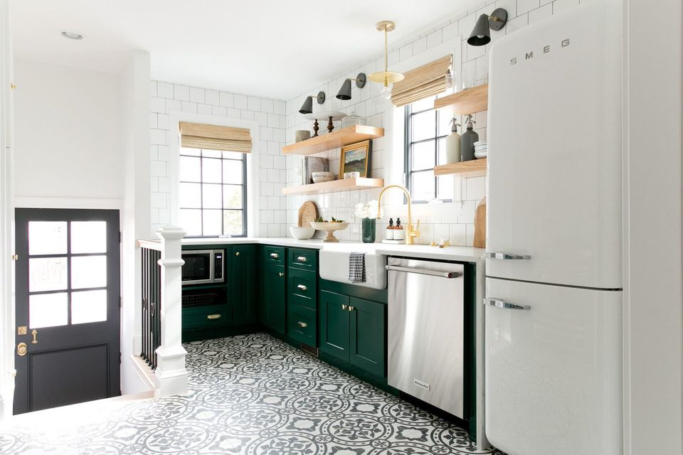 picturesque homely floor ideas tile gray design kitchen