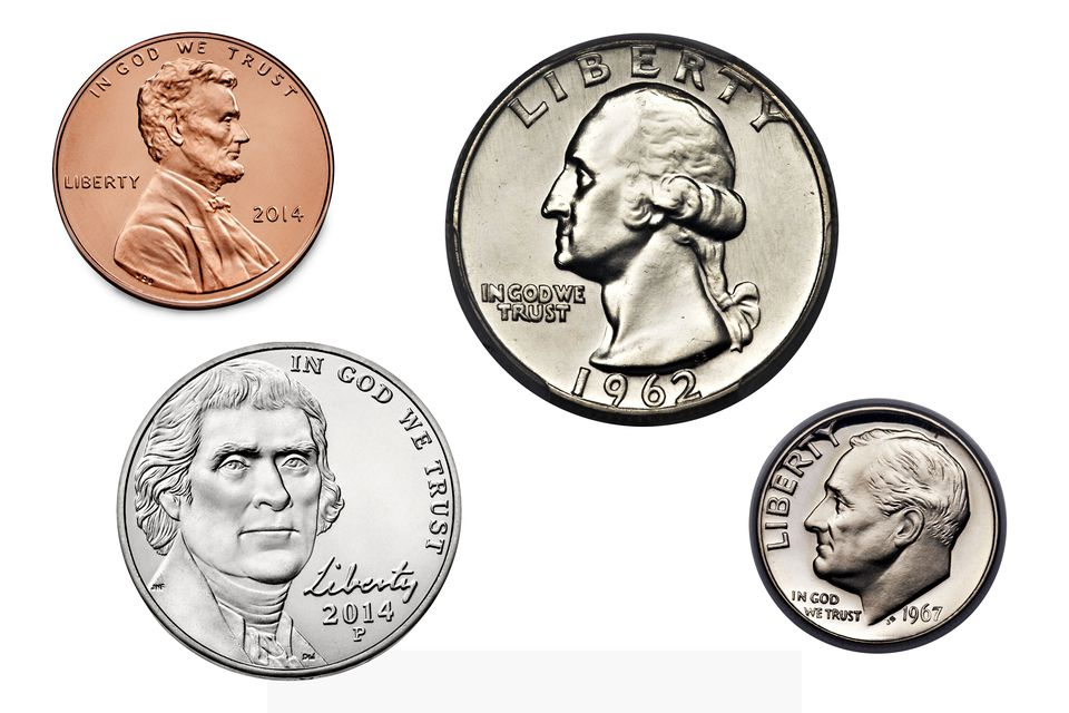 Presidents on Currently Circulating United States Coinage
