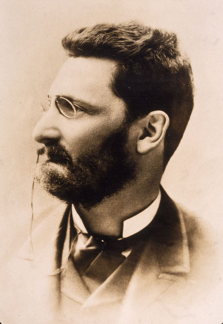 Portrait of newspaper publisher Joseph Pulitzer