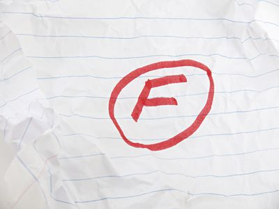 Essay about failing grades