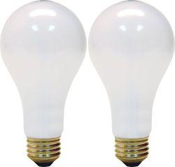 GE Lighting Soft White 3-way 97494 50/100/150-Watt, 2155-Lumen A21 Light Bulb with Medium Base, 12-Pack