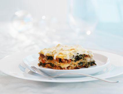 easy low calorie spinach lasagna recipe