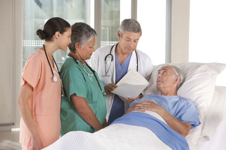dying patient appearing cachexic