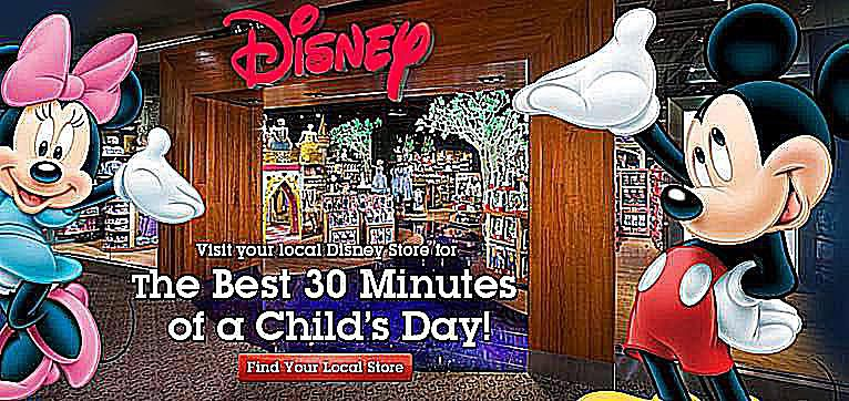 disney store free events for kids