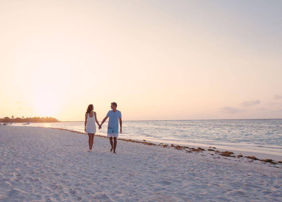 Couple in the Riviera Maya