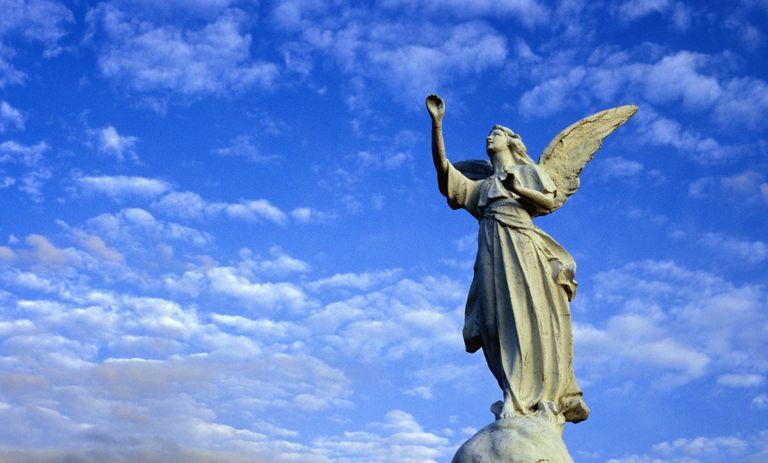 Estatua de un ángel