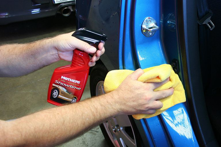 How to clean detail and wax your cars exterior